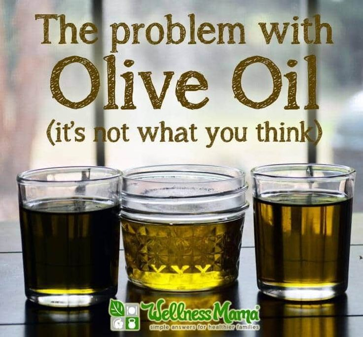 The problem with olive oil- it's not what you think