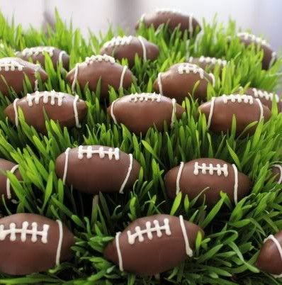 Perfect for this Sunday! Thanks   http://www.sweetestsincupcakes.com/item_54/Football-Cake-Pops.htm