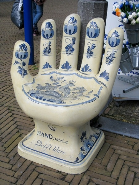 Delft Hand Chair.....I think I need one of these!