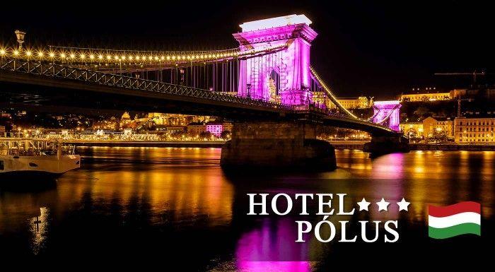 Skvelé 3 alebo 4 dni v Hoteli Pólus*** v Budapešti s raňajkami alebo polpenziou a fitness