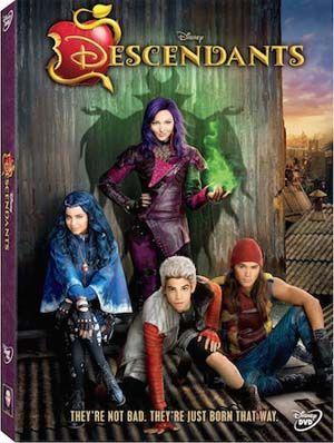 Descendants DVD Review - can good triumphant over evil? #Descendants