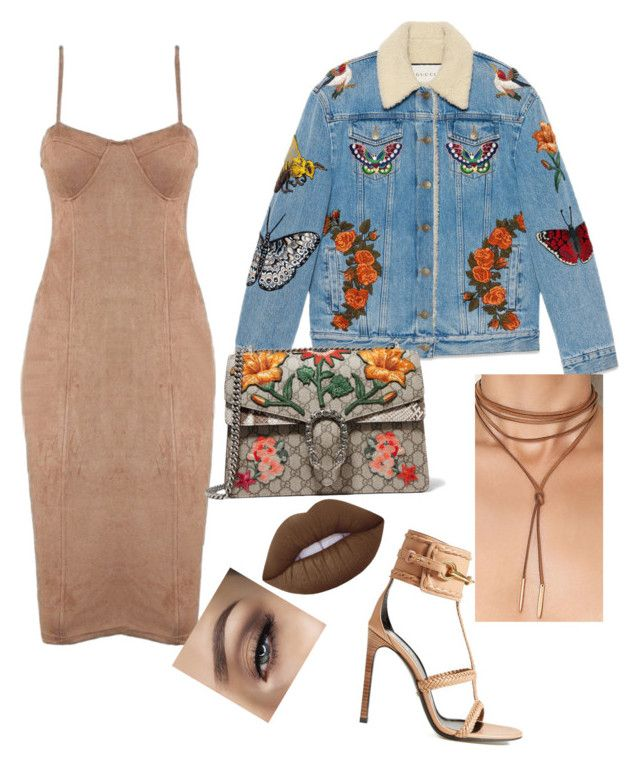 """""""It's Gucci"""" by yasmineings on Polyvore featuring Gucci and Lime Crime"""