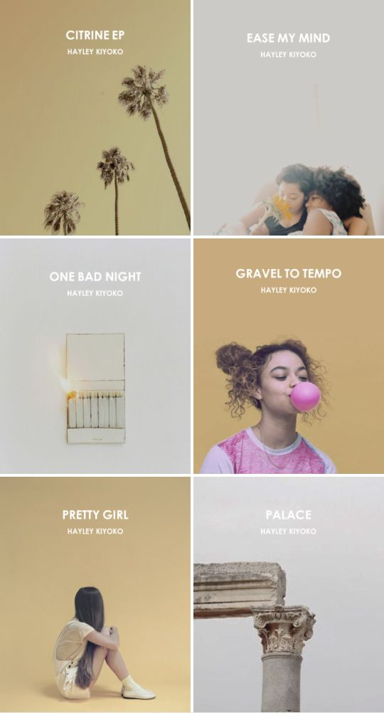 album aesthetics: citrine ep by hayley kiyoko i just wanna tell you that you're really pretty, girl. i just wanna know if you will let me be your world.