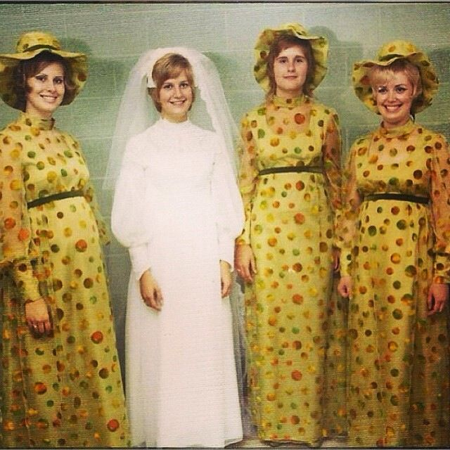 29 best bridesmaids images on pinterest the bride clothes and ugliest thing ive ever seen it burns my eyes junglespirit Gallery