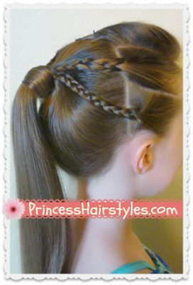 Marvelous 1000 Images About Hairdos For My Daughter On Pinterest Princess Short Hairstyles Gunalazisus