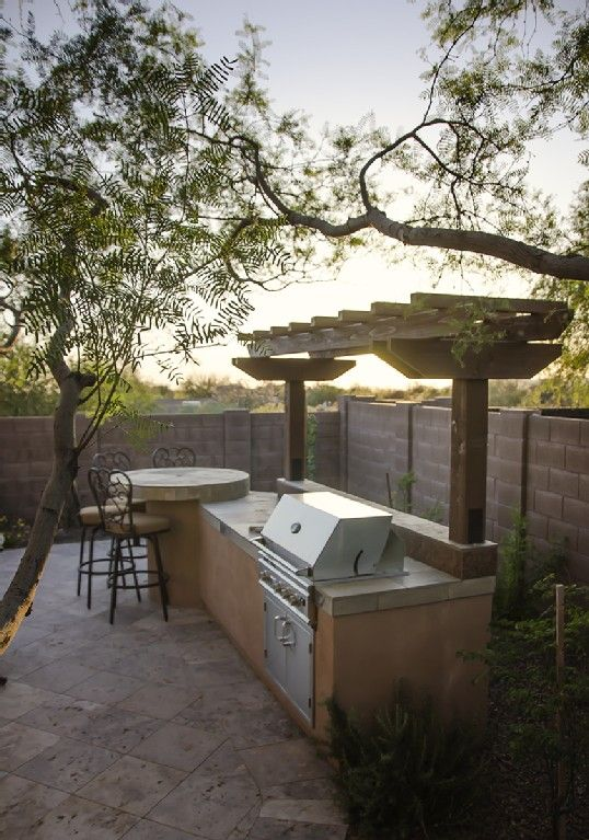 The Backyard Was Completely Renovated In 2012 With An Outdoor Kitchen/gas  Grill.