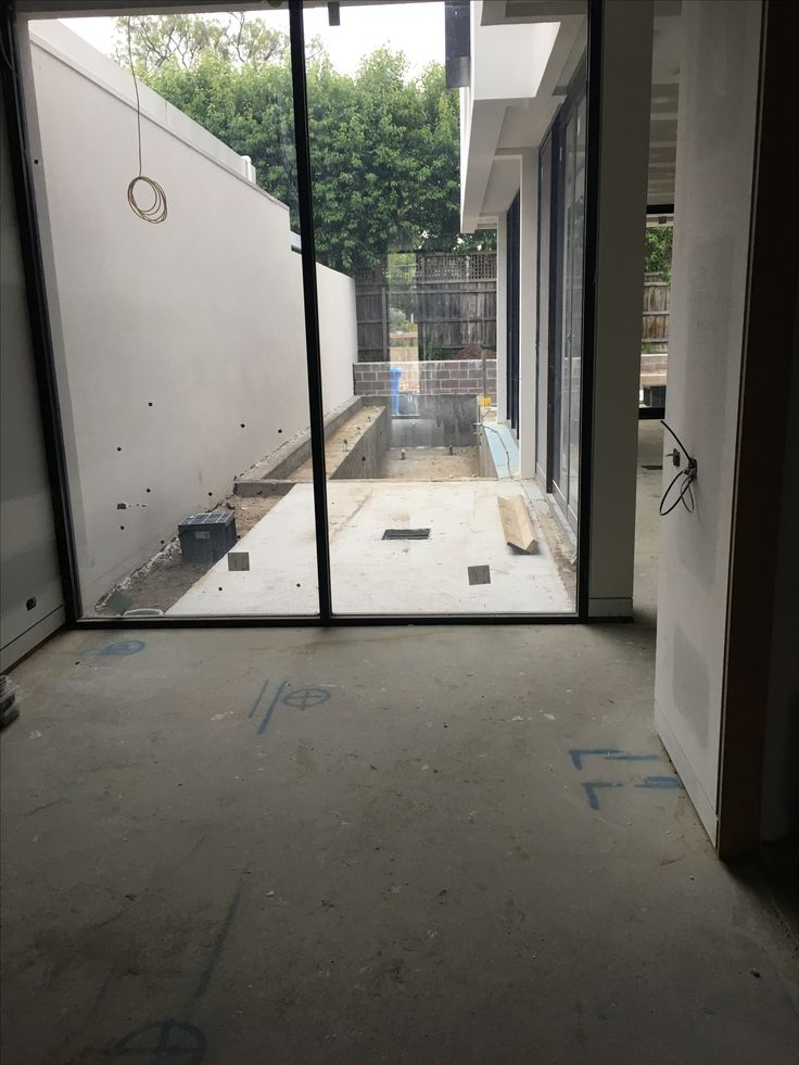 The entry area is starting to come together. Paving in (not grouted). Coping next