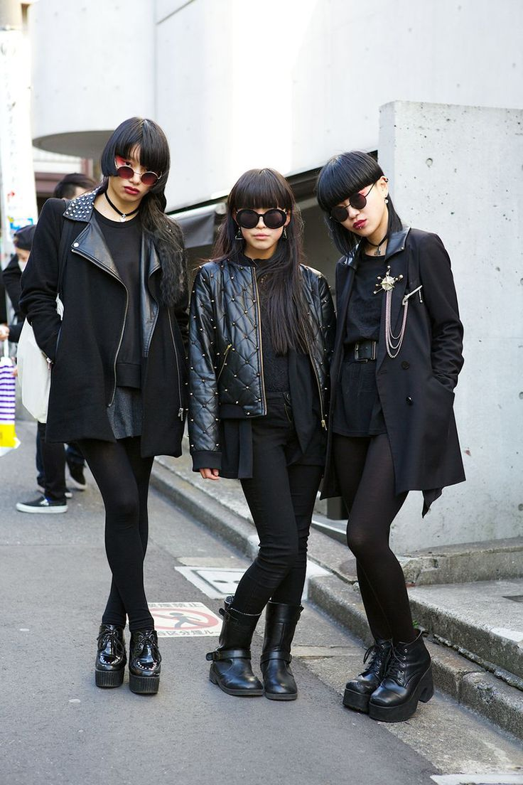 Street Style: Tokyo Fashion Week Fall 2014 - Vogue http://www.pinterest.com/pin/328903579010005072/