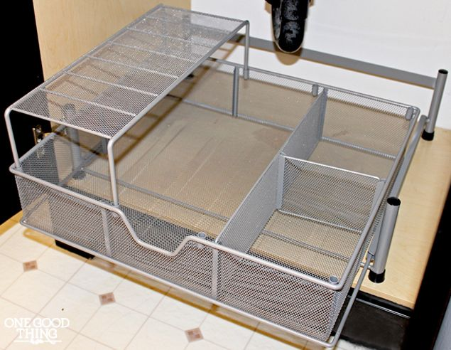 17 best ideas about bathroom sink organization on - Bathroom vanity under sink organizer ...