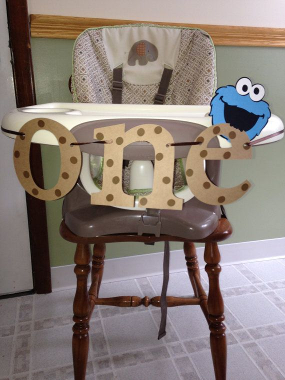 Hey, I found this really awesome Etsy listing at https://www.etsy.com/listing/218092946/cookie-monster-high-chair-banner-childs