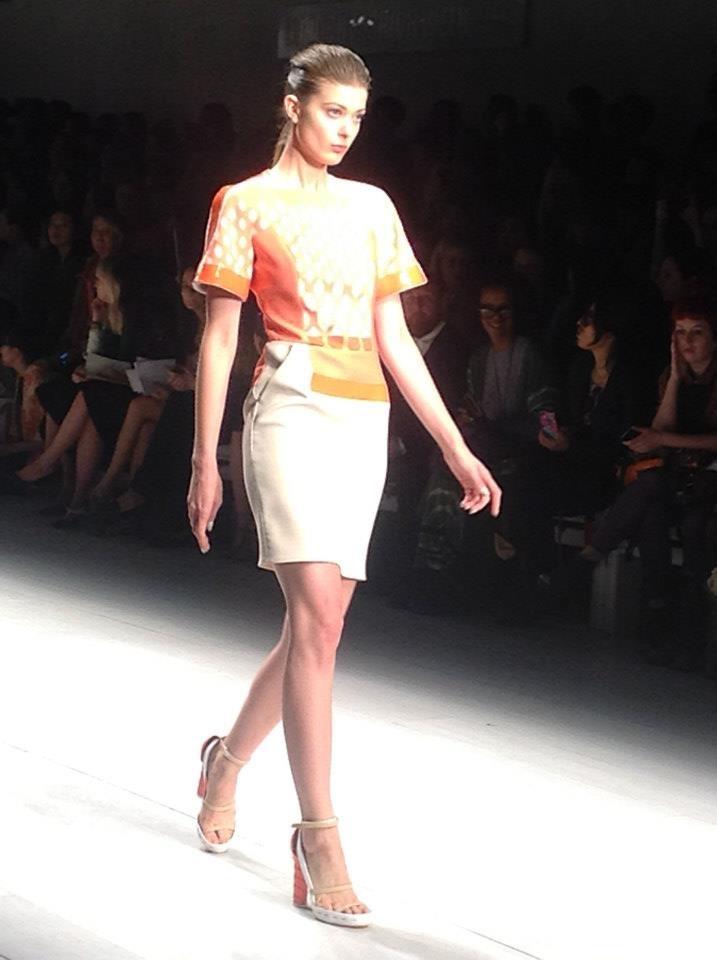 Vita Liberata @ London Fashion Week - David Koma SS13 Collection
