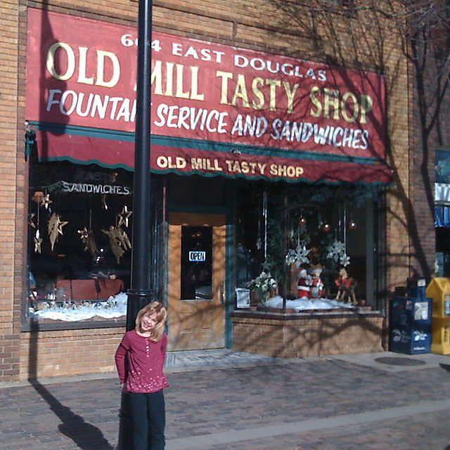 Apartments Downtown Wichita Ks: Old Mill Tasty Shop In Down Town Wichita Kansas Has Been