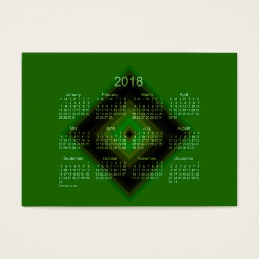 2018 Yearly Calendar One Page Laminated 2018 Yearly