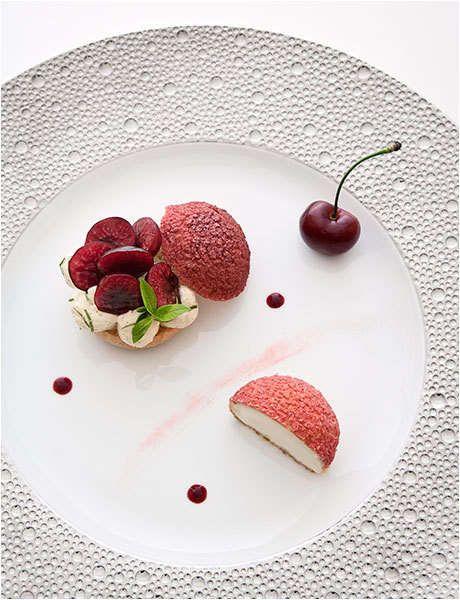 Les 184 meilleures images du tableau dessert l 39 assiette - Cuisiner patisson blanc ...
