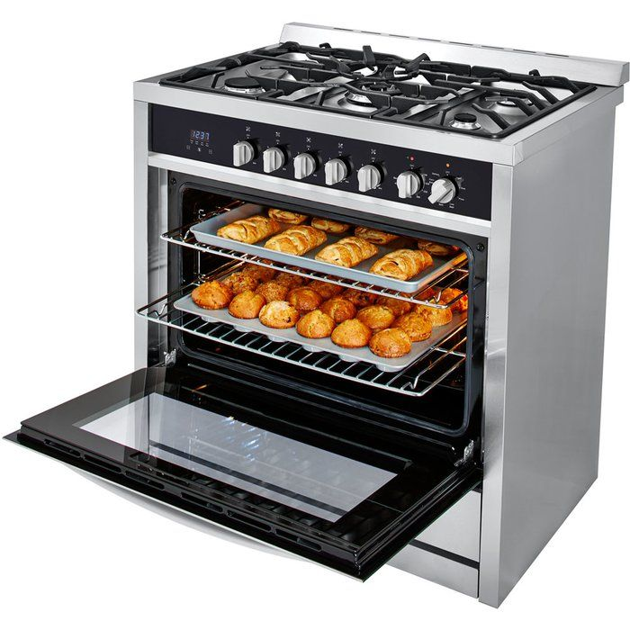 3.8 cu. ft. Dual Fuel Convection Range