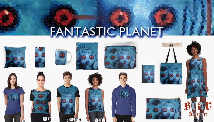Fantastic Planet (1973) La planète sauvage (original title) products designed by…