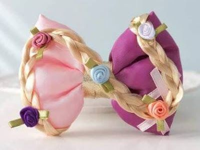15 Ideas para Elaborar Moños con Temas de Princesas
