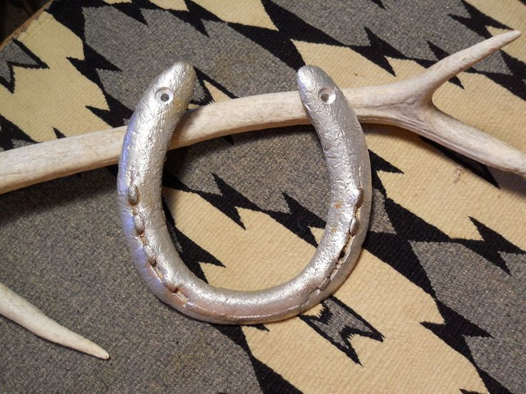 ALUMINUM LUCKY HORSESHOE FOR SALE in Lone Raven Ranch eBay shop - please follow link.. http://www.ebay.com/usr/loneravenranch (subject to prior sale) Free Ship Authentic Lucky Horseshoe Ready2Hang Cowgirl Cowboy USA Ranch Cabin Q