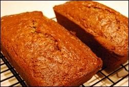 Paula Deen's Zucchini Bread recipe. Mmmm... made it last weekend.