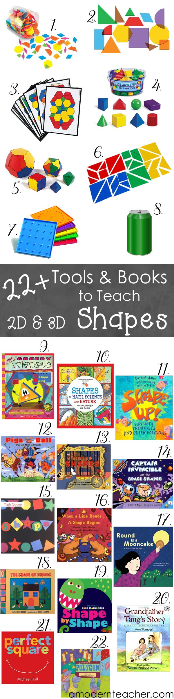 Plan and Go! Checklist for Teaching Geometry - A Modern Teacher