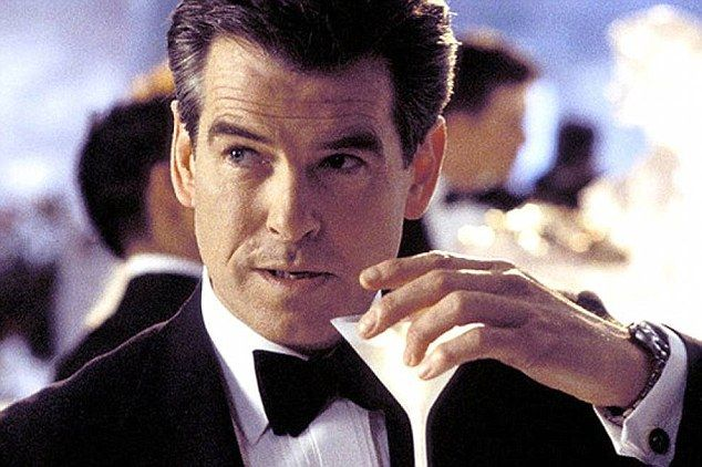 Piers Brosnan is the second booziest 007, averaging 12 units of alcohol for his four films...