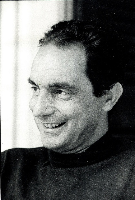 Italo Calvino (1923 – 1985) was an Italian journalist and writer of short stories and novels. His best known works include the Our Ancestors trilogy (1952–1959), the Cosmicomics collection of short stories (1965), and the novels Invisible Cities (1972) and If on a winter's night a traveler (1979). Lionised in Britain and the United States, he was the most-translated contemporary Italian writer at the time of his death, and a noted contender for the Nobel Prize for Literature.