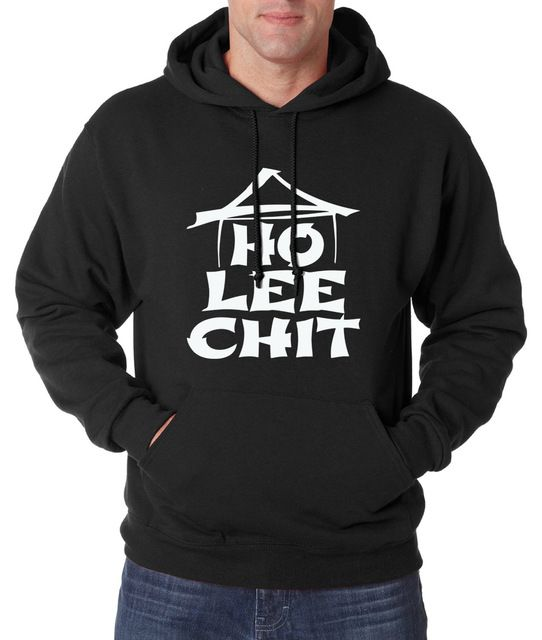 Special price Adult Ho Lee Chit Personalized Hoodies Holy Sh*t funny sweatshirt men Middle Figgle 2017 spring winter new fleece hoodie men just only $11.97 - 12.52 with free shipping worldwide  #hoodiessweatshirtsformen Plese click on picture to see our special price for you