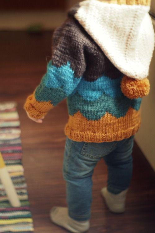 25+ best ideas about Hand knitted sweaters on Pinterest Knit poncho, Fall s...