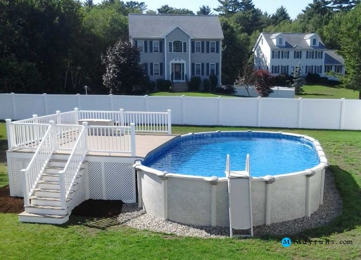 Best 25 above ground pool ladders ideas on pinterest pool with deck above ground pool decks - Above ground composite pool deck ...