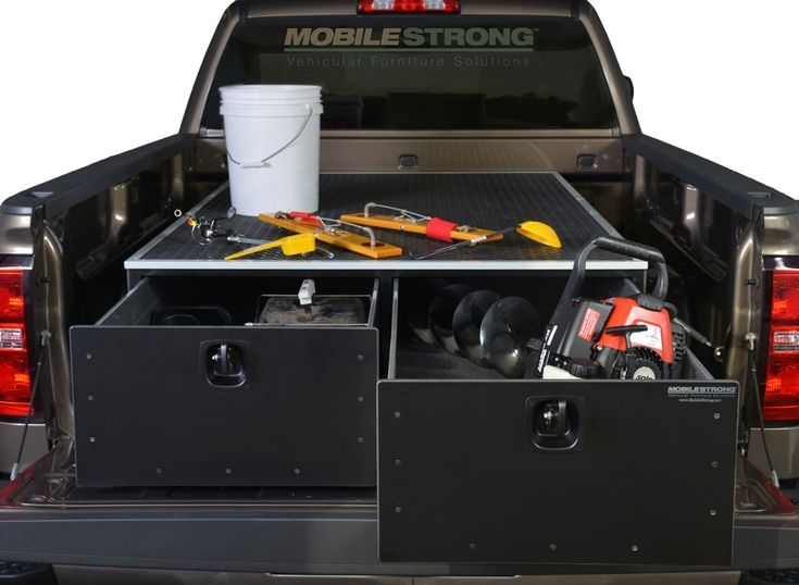 48 best images about suv truck storage drawers by for Truck fishing accessories
