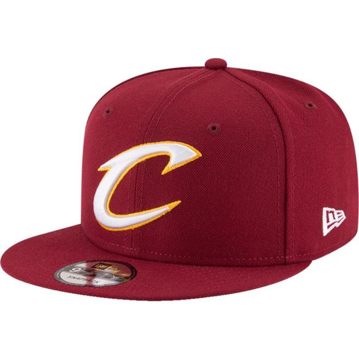New Era Men's Cleveland Cavaliers 9Fifty Adjustable Snapback Hat, Team