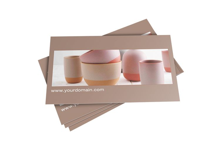 Ceramics Interior Design Business Card Template For Download