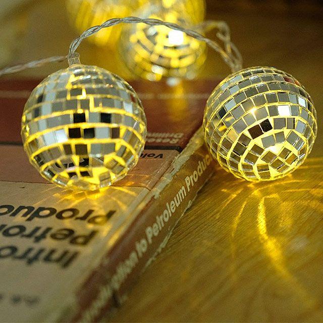 Disco Ball Led Decor Lights