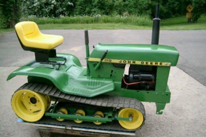 Lawn Tractor Dozer Tracks Conversion : Best ideas about john deere lawn mower on pinterest