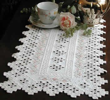 To make a Hardanger table runner - I know how to do it just have to get going on it.