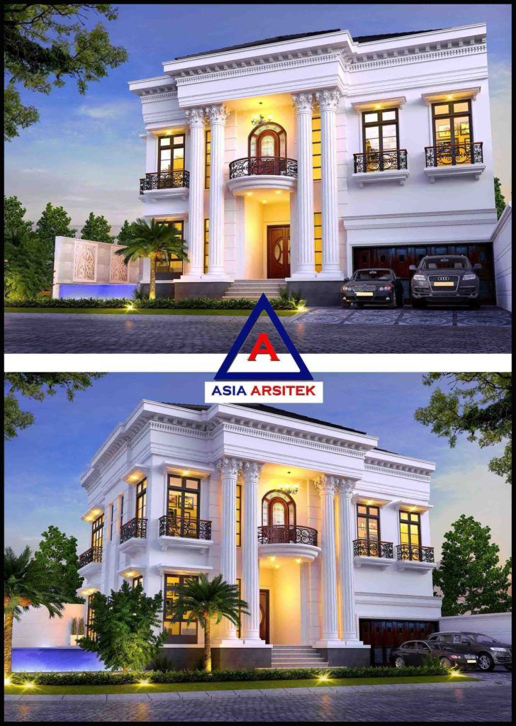 38 Ide Cantik Rumah Classic Modern Paling Populer Di Dunia House Plans Mansion House Styles Mansions
