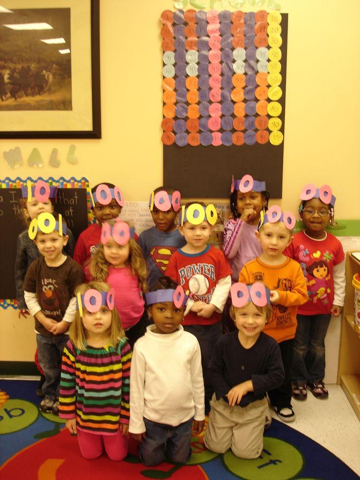 100th day of preschool  www.brennaphillips.com