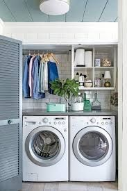 Laundry Room Ideas Small With Top Loading Washer Layouts That Work Closet
