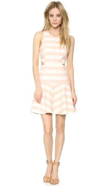 Flirty Stripe Dress | Tibi