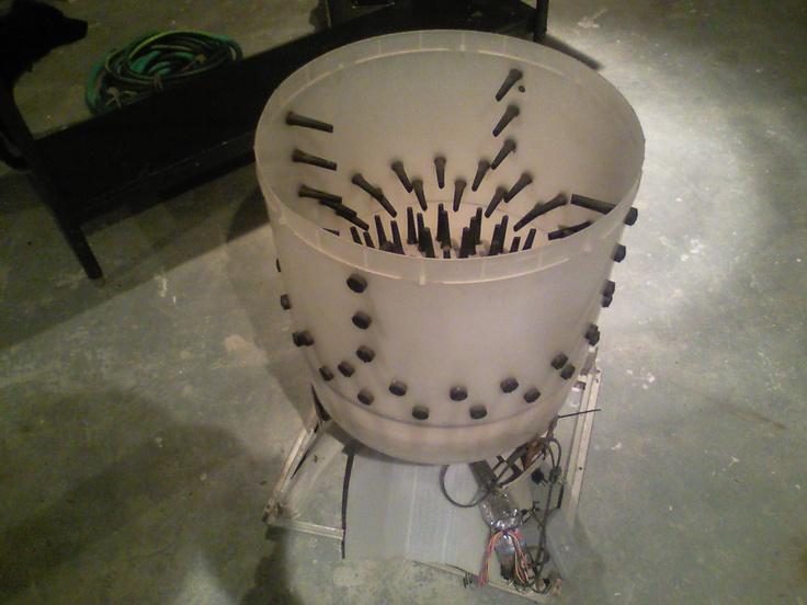washing machine plucker