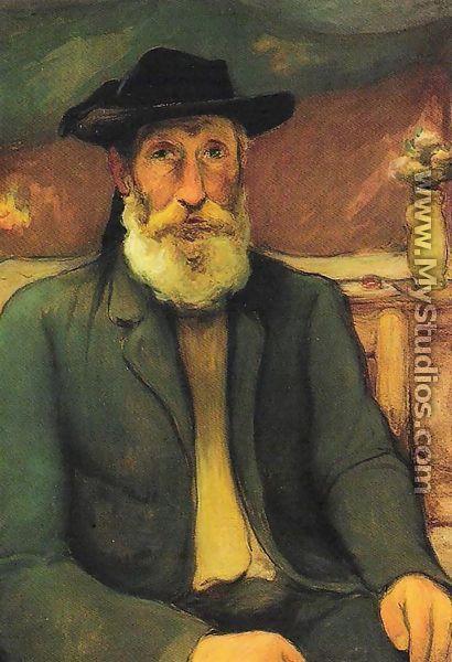 self portrait - wladyslaw slewinski 1912