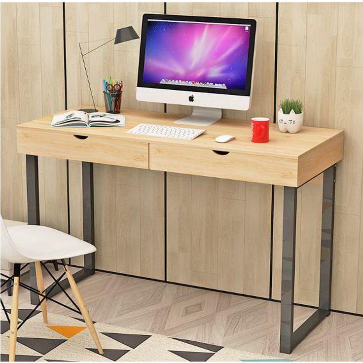 250613/Desktop computer desk / home modern desk / simple table / laptop table/Spacious key design/Stable steel frame //Price: $US $378.00 & FREE Shipping //