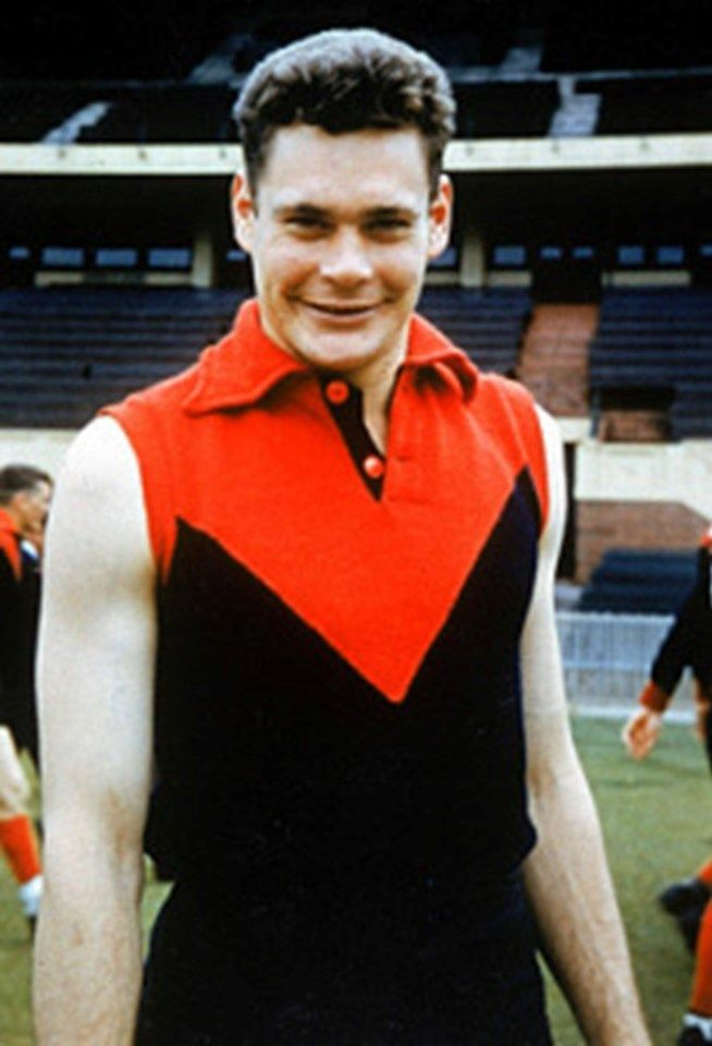 Legend - Ron Barassi (Melbourne, Carlton). Games – 253. One of the most determined players ever to play the game, Barassi did not know how to accept defeat. His attack on the football and inspired leadership made him a football great. He took that passion for the contest into his coaching, willing his players to perform at their best.