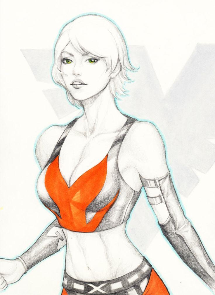 X-men: Rachel Summers by WeijiC on @DeviantArt