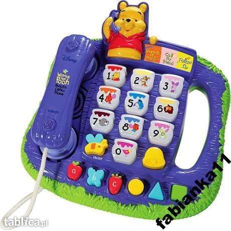 ***Telefon Kubuś Puchatek *** VTECH Zapraszam na Allegro - fabianka11