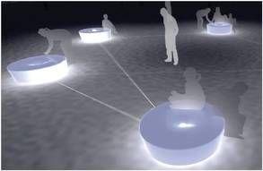 Arkitektskolen Aarhus: Arkitektskolen udvikler interaktive byrumsmøbler på Bispetorv