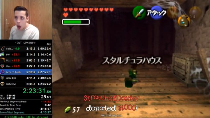 Learn about Speedrunner Gets $1000 Donation While Playing Ocarina Of Time Thanks To Sheer Luck http://ift.tt/2BqeQbc on www.Service.fit - Specialised Service Consultants.