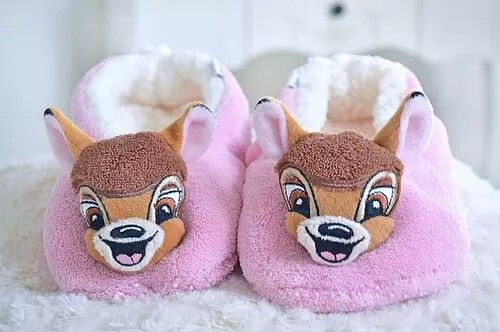 Disney slippers <3