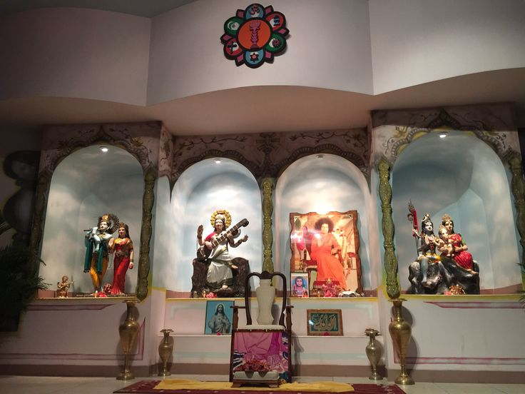 """Our Beautiful Altar... Multi Faith...  """"There is only one religion, the religion of LOVE."""" ~ Sti Sathya Sai Baba"""