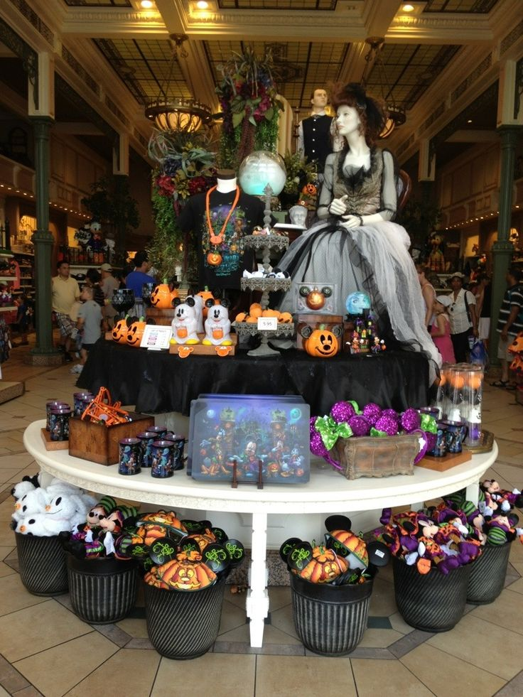 disneyland halloween in room celebration